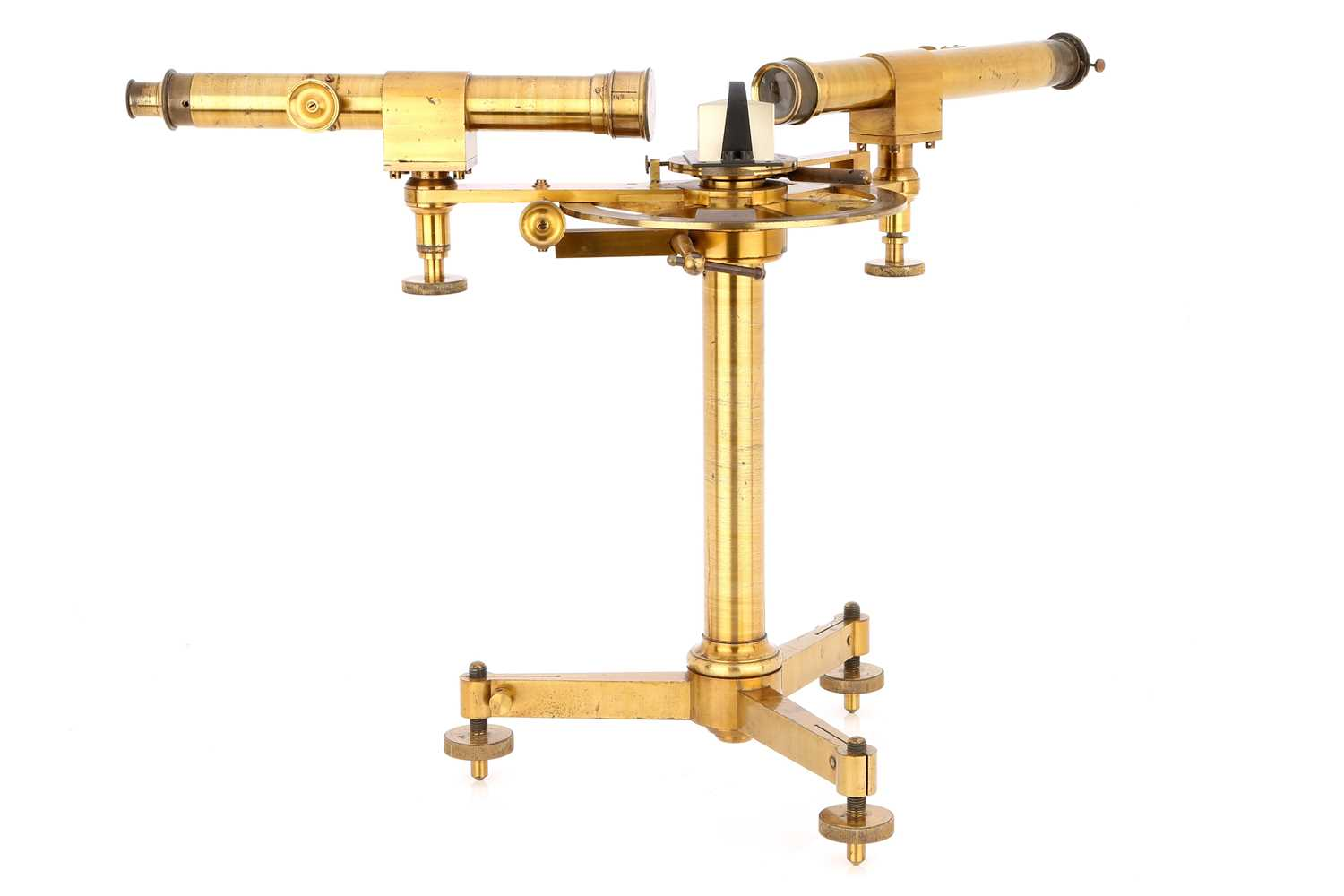 Lot 48-A Large & Impressive Laboratory Spectroscope by Elliot