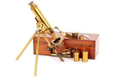 Lot 7-A Mogine Type Microscope