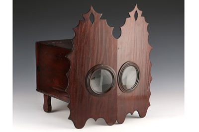 Lot 90-A Large & Unusual Double Peepshow Viewer