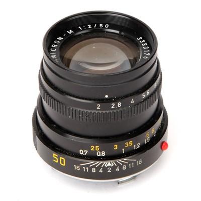 Lot 25 - A Leitz Summicron-M f/2 50mm Lens
