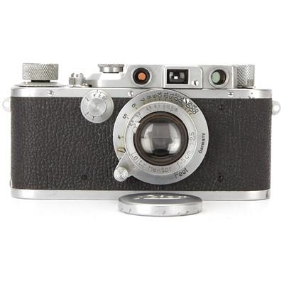 Lot 3 - A Leica IIIb Rangefinder Camera