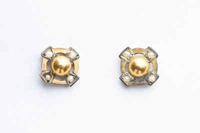 Lot 45 - A Pair of Gold Celtic Cross Earrings