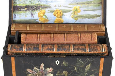 Lot 10 - Three Victorian Photograph Albums