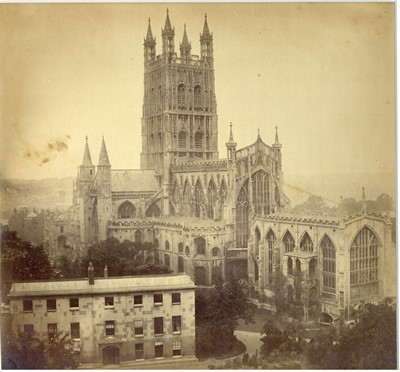 Lot 3 - ROGER FENTON (1816-1869), Gloucester Cathedral