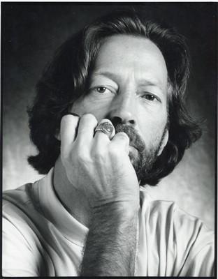 Lot 50 - LUCIANO VITI, Eric Clapton