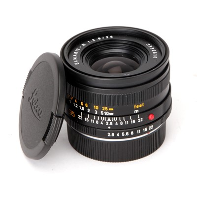 Lot 34 - A Leitz Elmarit-R f/2.8 35mm Lens
