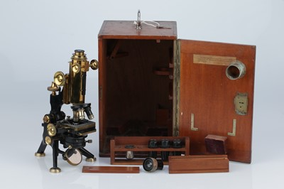 Lot 1 - A Watson 'Royal' Microscope