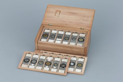 Lot 15 - Fine Collection of 72 Fred Enock Microscope Slides