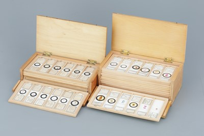 Lot 24 - Two Cases  of Microscope Slides