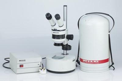 Lot 19 - WILD Heerbrugg M5A Binocular Microscope