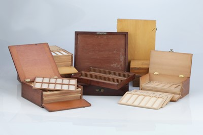 Lot 28 - Collection of Microscope Slide Cases