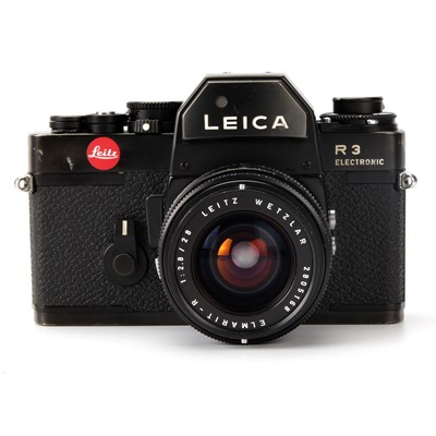 Lot 36-A Leica R3 Electronic SLR Camera