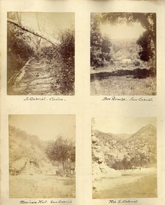 Lot 17 - ELIAS A BONINE (1843-1916), 16 photographs of the American West