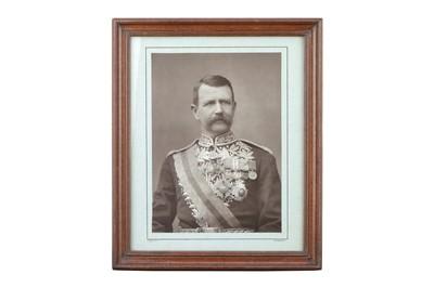 Lot 13 - HERBERT ROSE BARRAUD (1845-1896) Sir Charles Warren