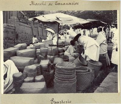Lot 29 - Vintage Photographs of a Madagascan Market