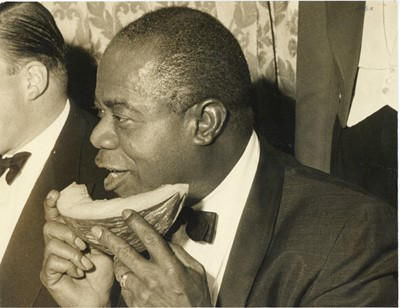 Lot 47 - A Photograph of Louis Armstrong