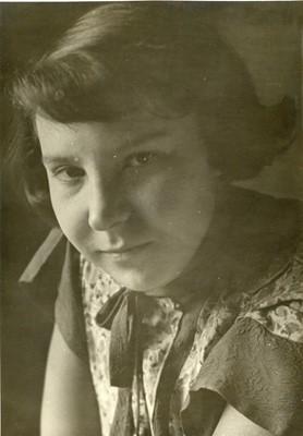 Lot 42 - ALEXANDER RODCHENKO (1891-1956) A Portrait of Vavara Rodchenko