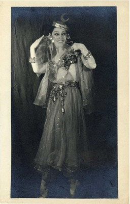 Lot 43 - Anonymous Russian Photographer - Mary Bauer in Moscow Theatre