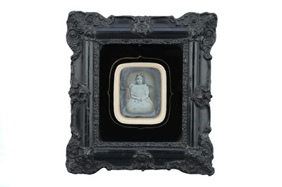 Lot 24 - A Sixth-Plate Daguerreotype of A Young Girl