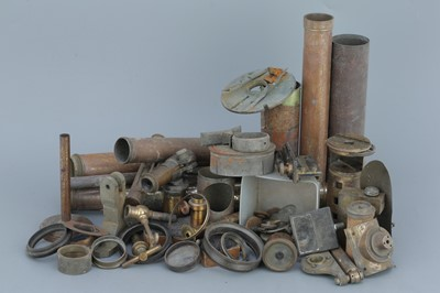 Lot 32 - A Selection of Various Brass Microscope & Telescope Parts