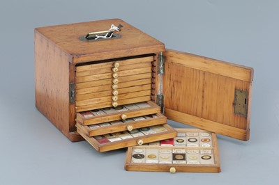 Lot 36 - Small Cabinet of Microscope Slides