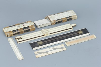 Lot 50 - Collection Of Rulers