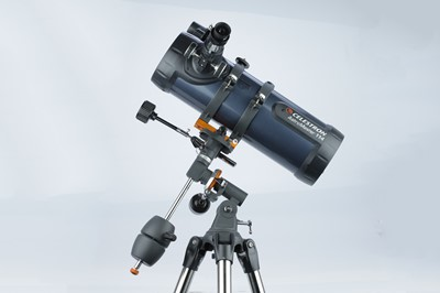 Lot 45 - Celestron AstroMaster 114 EQ Newtonian Telescope