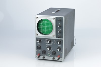 Lot 44 - A Heathkit Daystrom Oscilloscope Model 10-12U