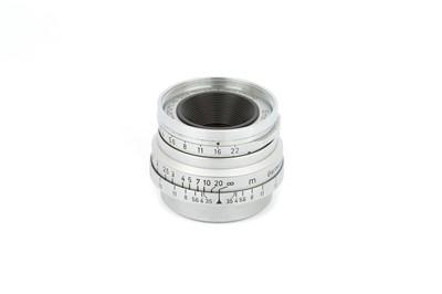 Lot 19 - A Leitz Summaron f/3.5 35mm Lens