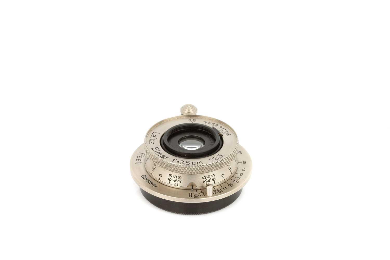 Lot 17 - A Leitz Elmar f/3.5 35mm Lens