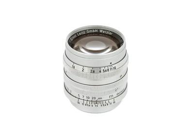 Lot 21 - A Leitz Summarit f/1.5 50mm Lens