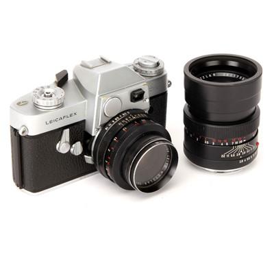 Lot 48 - A Leica Leicaflex SLR Camera