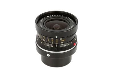 Lot 43 - A Leitz Super-Angulon f/3.4 21mm Lens