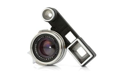 Lot 46 - A Leitz Summilux f/1.4 35mm 'Steel Rim' Lens