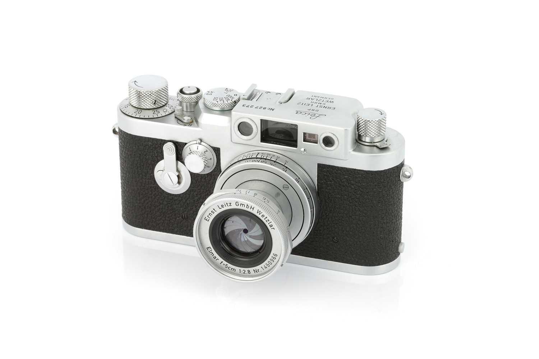 Lot 11 - A Leica IIIg Rangefinder Camera