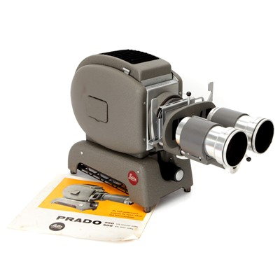 Lot 49 - A Leitz Prado 500 Stereo Projector