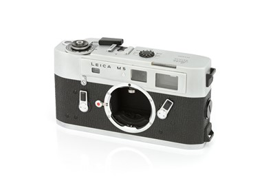 Lot 38 - A Leica M5 Rangefinder Body