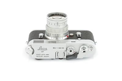Lot 34 - A Leica M4 Rangefinder Camera