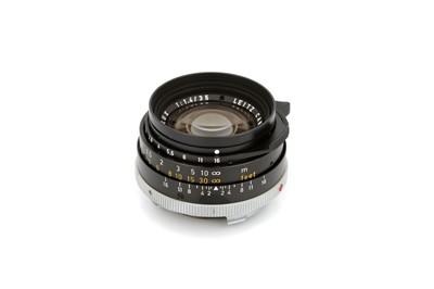 Lot 48 - A Leitz Summilux f/1.4 35mm Lens