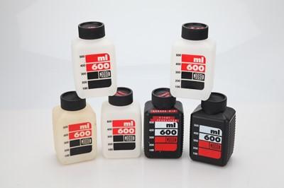 Lot 10 - 6 Small Jobo Chemistry Bottles