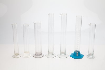 Lot 15 - A Selection of Glass Graduated Cylinders