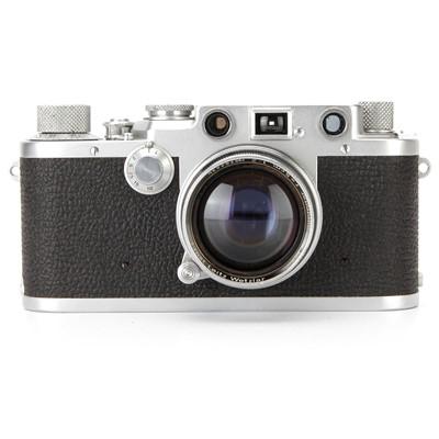 Lot 8 - A Leica IIIf Rangefinder Camera