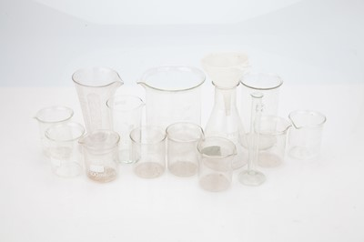 Lot 16 - A Selection of Laboratory Glassware
