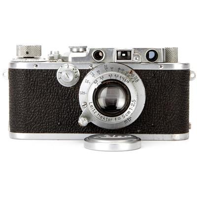 Lot 9 - A Leica III Rangefinder Camera