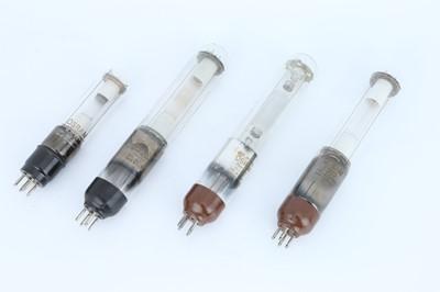 Lot 392 - Collection of Four Metal Vapour Lamps