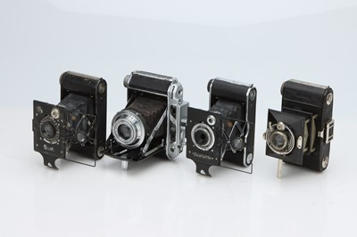 Lot 172 - Four Japanese Folding Cameras