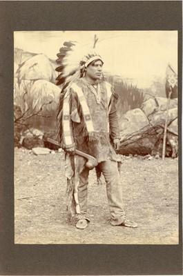 Lot 103 - Portrait of a Native American