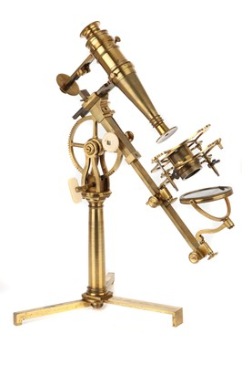 """Lot 2-An Exceptionally Fine Adams' """"Variable"""" Microscope"""