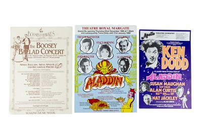 Lot 54 - Theatre Posters and Cartoon