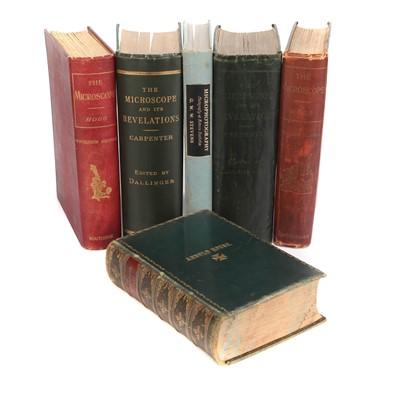 Lot 23 - Six Various Microscope Books